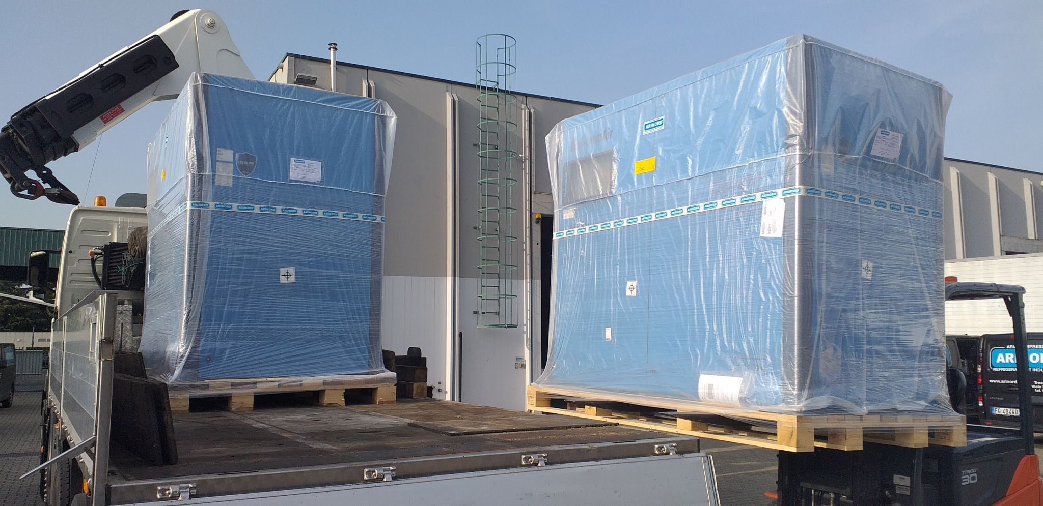 Installazione CompAir L132RS